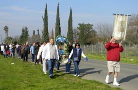 Campesino procession